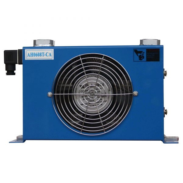 hydraulic fan oil cooler
