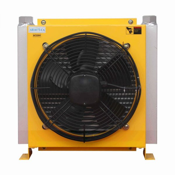AC motor hydraulic oil cooler
