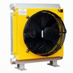 hydraulic oil cooler with thermostat