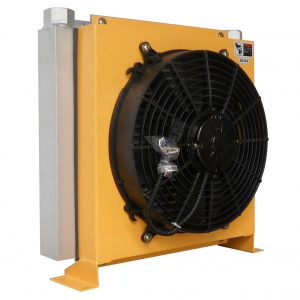 hydraulic fluid cooler at IP68 grade