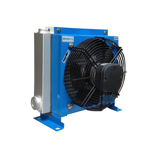 electric motor hydraulic oil cooler