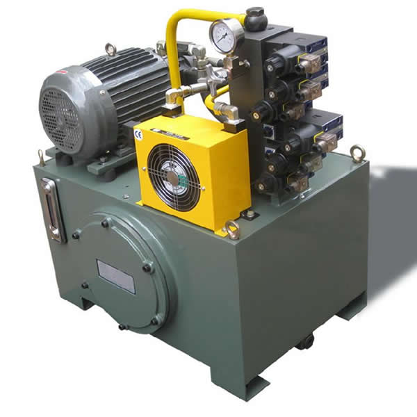 Air Oil Cooler for Hydraulic Power System