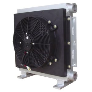 Hydraulic station air cooler