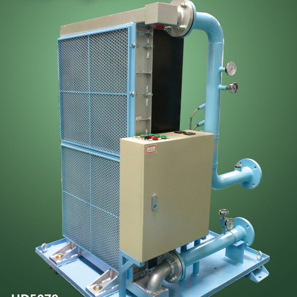 air oil cooler for hydraulic system