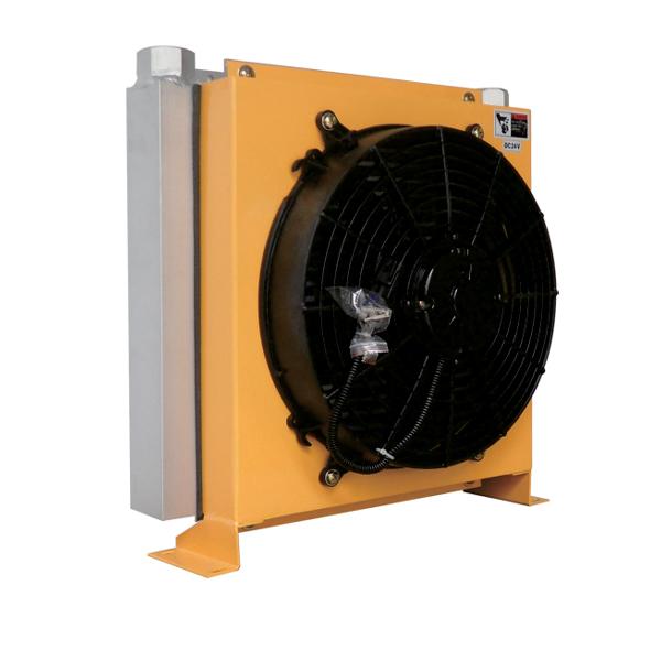 Aluminum heat exchanger DC motor