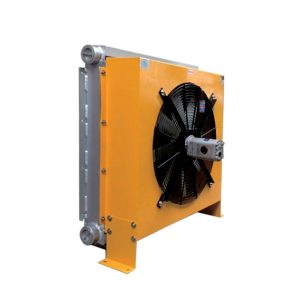 Hydraulic motor driven air cooler